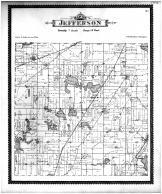 Jefferson Township, Goose Lake, Dailey, Cass County 1896